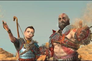 atreus god of war (2018) kratos video games god of war screen shot santa monica studio