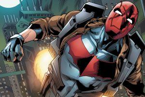 batman dc comics red hood