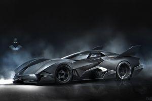 batman vehicle batmobile digital art car black cars