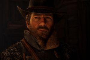 beard rockstar games video games red dead redemption 2 cowboys arthur morgan screen shot red dead redemption hat