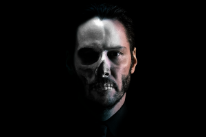 beards simple background dia de los muertos photo manipulation keanu reeves john wick  men photoshop skull