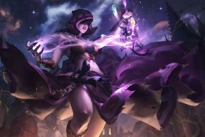 belly witch paladins: champions of the realm fantasy art tight clothing women thighs video games digital art mask artwork spell hoods