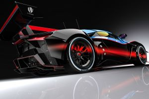 benoit fraylon digital art car vehicle fenyr supersport