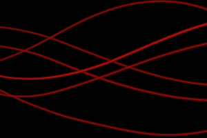 black lines red black background minimalism