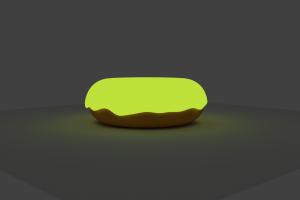 blender doughnut radioactive blender