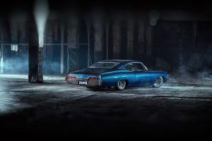 blue cars car chevrolet impala chevrolet vehicle
