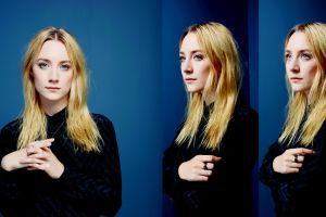 blue eyes collage blue background saoirse ronan actress blue women