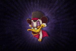 bogdan timchenko artwork purple background