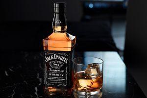 bottles whiskey alcohol