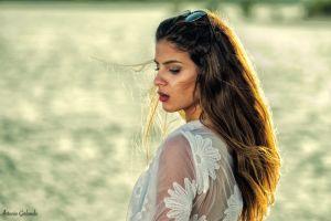 brunette beach antonio girlando model greta bertone women
