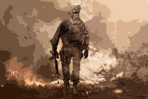 call of duty modern warfare 2 video game art video games