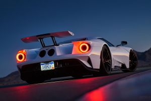 car ford gt road ford outdoors sky luxury cars
