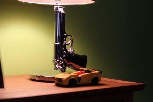 car lamp gun toys