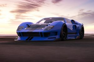 car vehicle ford ford gt ford gt40 blue cars rostislav prokop