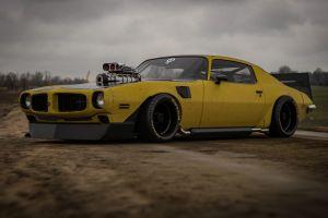 car vehicle pontiac firebird rostislav prokop pontiac yellow cars