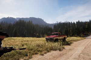 car video games weapon screen shot farcry 5