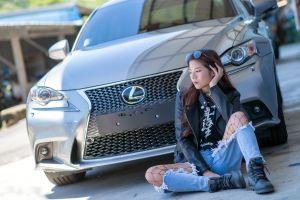car women asian