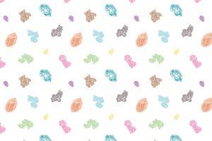 cartoon pokémon tile pattern