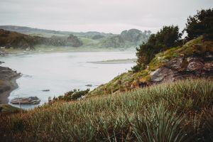 cerro pompom river mouth beach