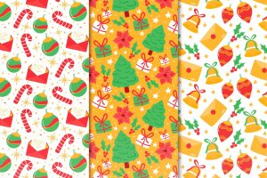 christmas pattern texture