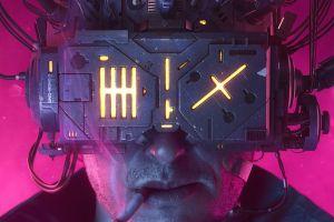 cigarettes cyberpunk science fiction digital