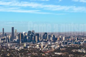 city brisbane trees text watermarked skyline architecture horizon australia
