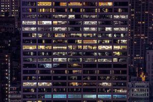 city cityscape window building