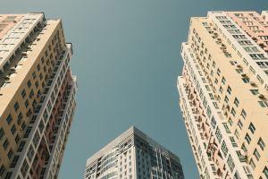 city clear sky building