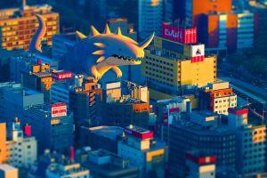 cityscape digital art artwork
