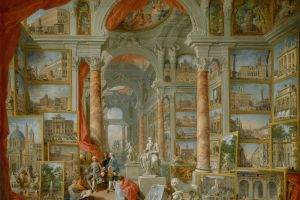 classical art giovanni paolo panini 1757 ancient rome painting 1757 (year) europe