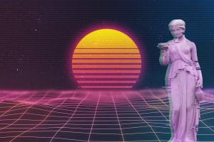 classical art vaporwave classical