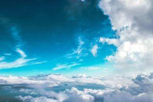 clouds blue clouds