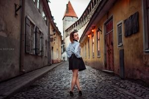 cobblestone women 500px high heels photography icona pictura