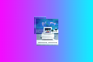 computer vaporwave 1990s