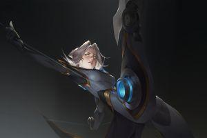 cyborg camille (league of legends) league of legends fantasy art