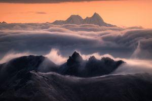 daniel laan mountains mist photography landscape clouds 500px sunset nature