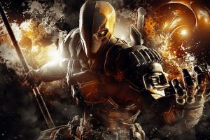 deathstroke batman fictional character batman: arkham knight movies