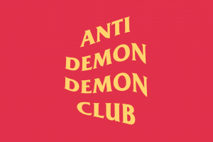 demon simple simple background