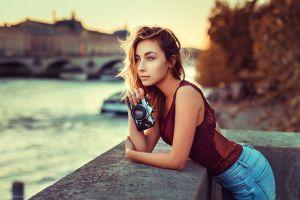 depth of field mélanie buffetaud blonde camera lods franck portrait women