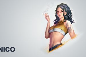 devil may cry 5 women nico (devil may cry) cigarettes