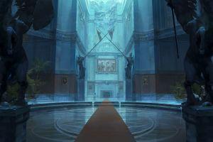 digital art artwork interior