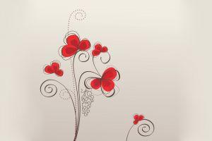 digital art floral vector