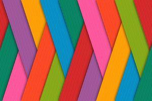 digital art geometry colorful pattern