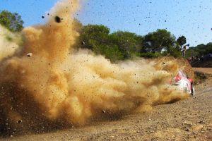 dirt race cars rally racing ford vehicle sport