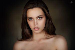 dmitry arhar women alina bare shoulders portrait face