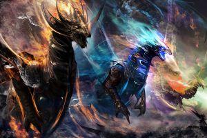 dragon creature fantasy art