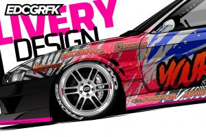 drift cars nissan 200sx jdm edc graphics drift nissan render japanese cars