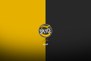 e-sports splyce  logo black yellow