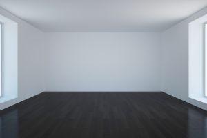 empty  white room minimalism