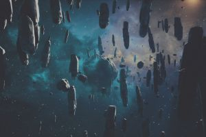 everspace asteroids space asteroid space screen shot